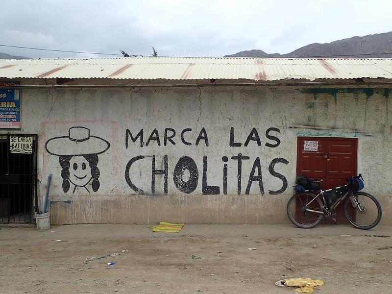 """""""Marca las Cholitas""""."""