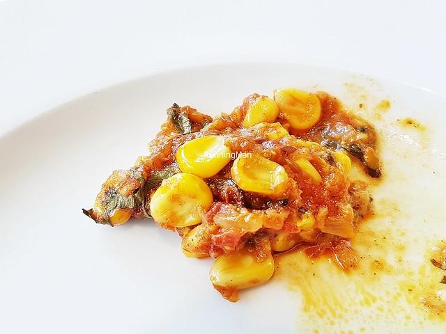 Corn Tomato Bharta