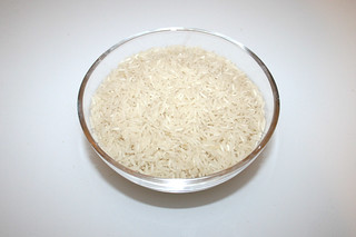 12 - Zutat Basmatireis / Ingredient basamati rice