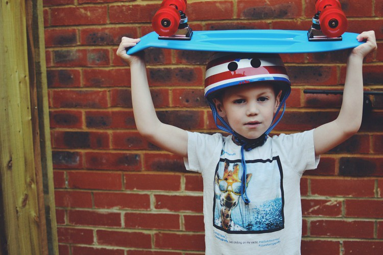 skateboard home life project