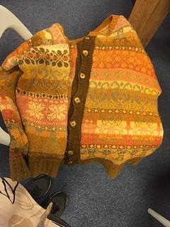 wol verven met paddestoelen olv Chiel Noordeloos bij wolstudio De Schapekop. Dyeing Wool with mushrooms.