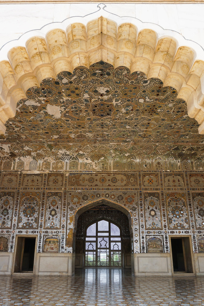 The Palace Of Mirrors Lahore Fort Pakistan The Shish Meh Flickr