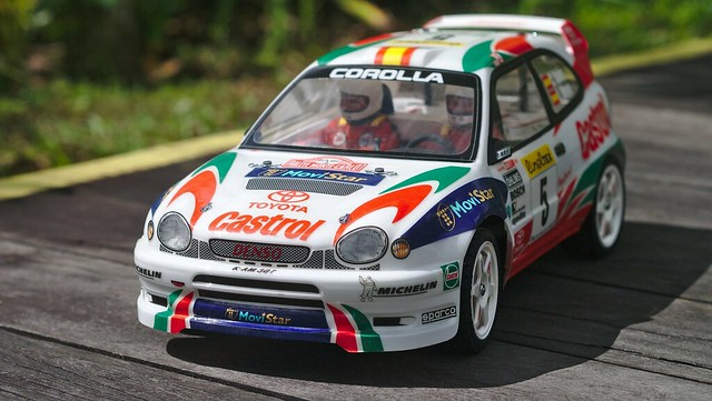 tamiya - [PHOTOS] Japanese rally cars from the 90s, Tamiya-style 33102289815_464b1c7519_z