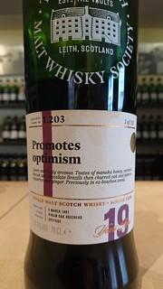 SMWS 1.203 - Promotes optimism