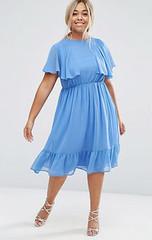 femme-robes-midi-asos-robe-mi-longue-a-volants-et-manches-evasees