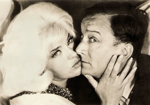 Diana Dors and Robert Dhéry in Allez France! (1964)