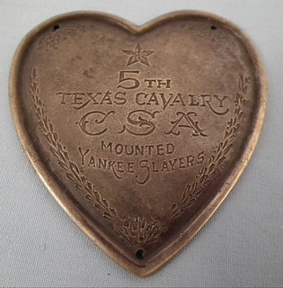 5th Texas Cavalry medal obverse