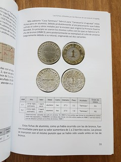 Uruguay Beer Tokens sample page2