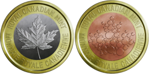 Royal Canadian Mint Tri-Metal Security Token