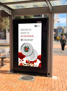 Reserve Bank of New Zealand Armistice Day Coin Public Awareness Campaign