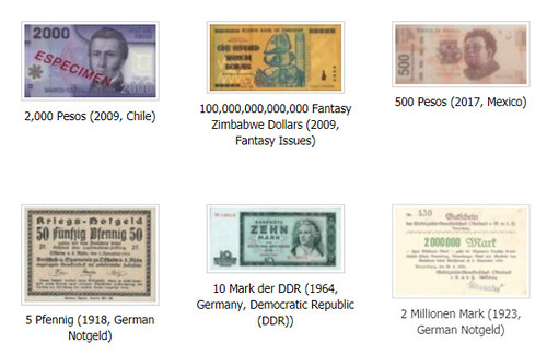 colnect banknotes