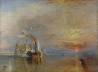 Turner painting The Fighting Temeraire