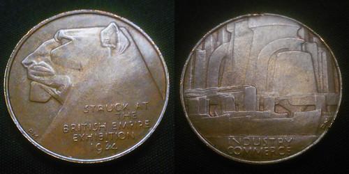 1924 British Empire Exhibition medal