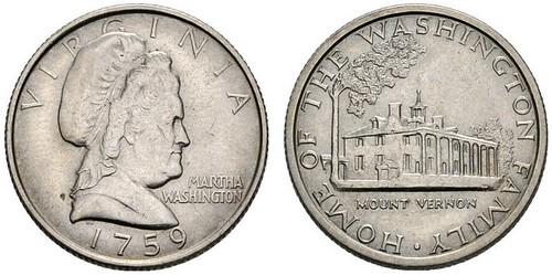 Martha Washington Quarter pattern