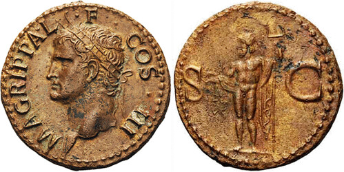 coin of Marcus Agrippa