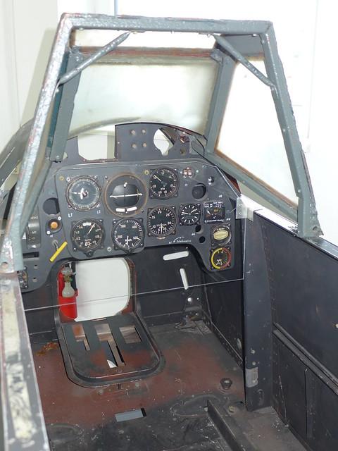 Führerraum einer Bf 109