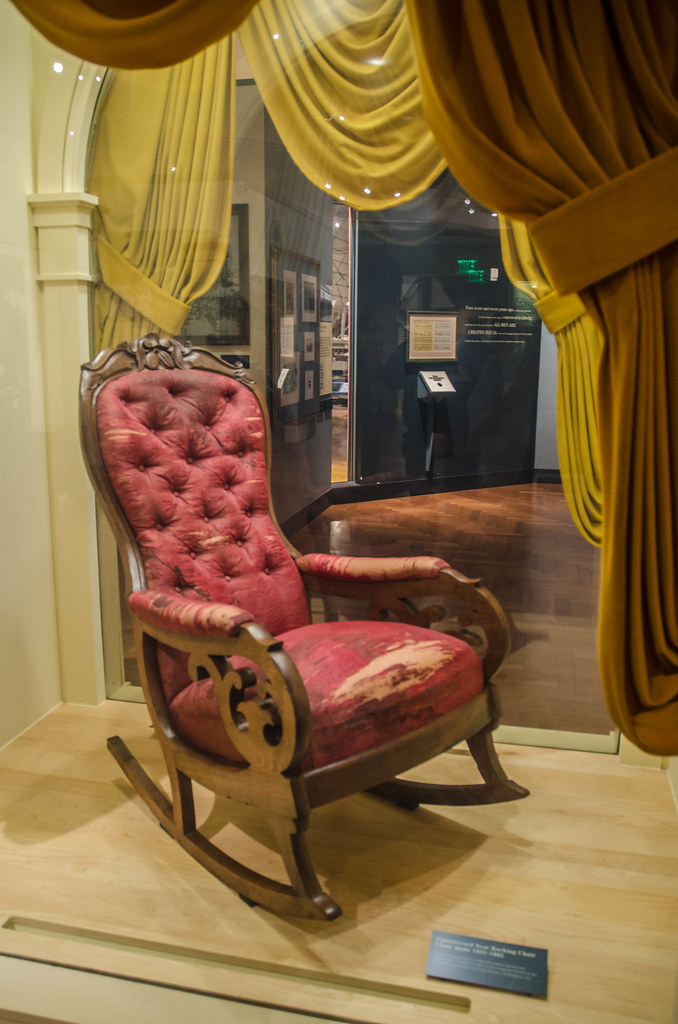 Abraham Lincoln Chair At Ford S Theater On April 14