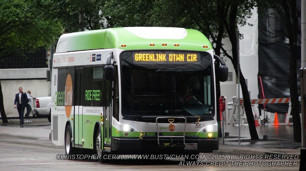 HOUSTON METRO BUS 35FT GILLIG BRT GREEN LINK Metropolitan Flickr