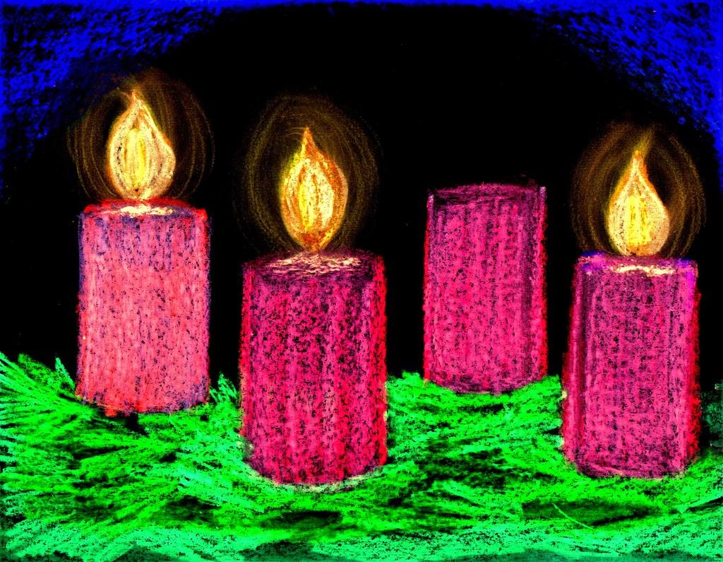 advent candles week 3 john flickr. Black Bedroom Furniture Sets. Home Design Ideas