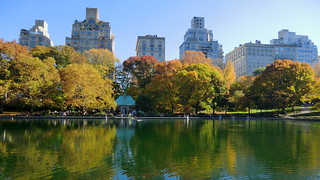 New York: Central Park - The Ramble & Lake - view to west | by Traveller-Reini