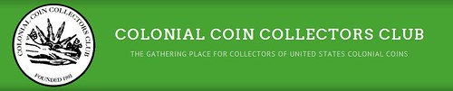 Colonial Coin Collectors Club (C4) logo banner