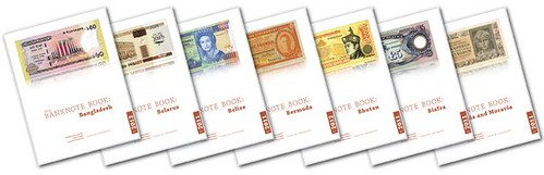 The Banknote Book covers