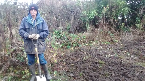digging allotment Dec 16 3