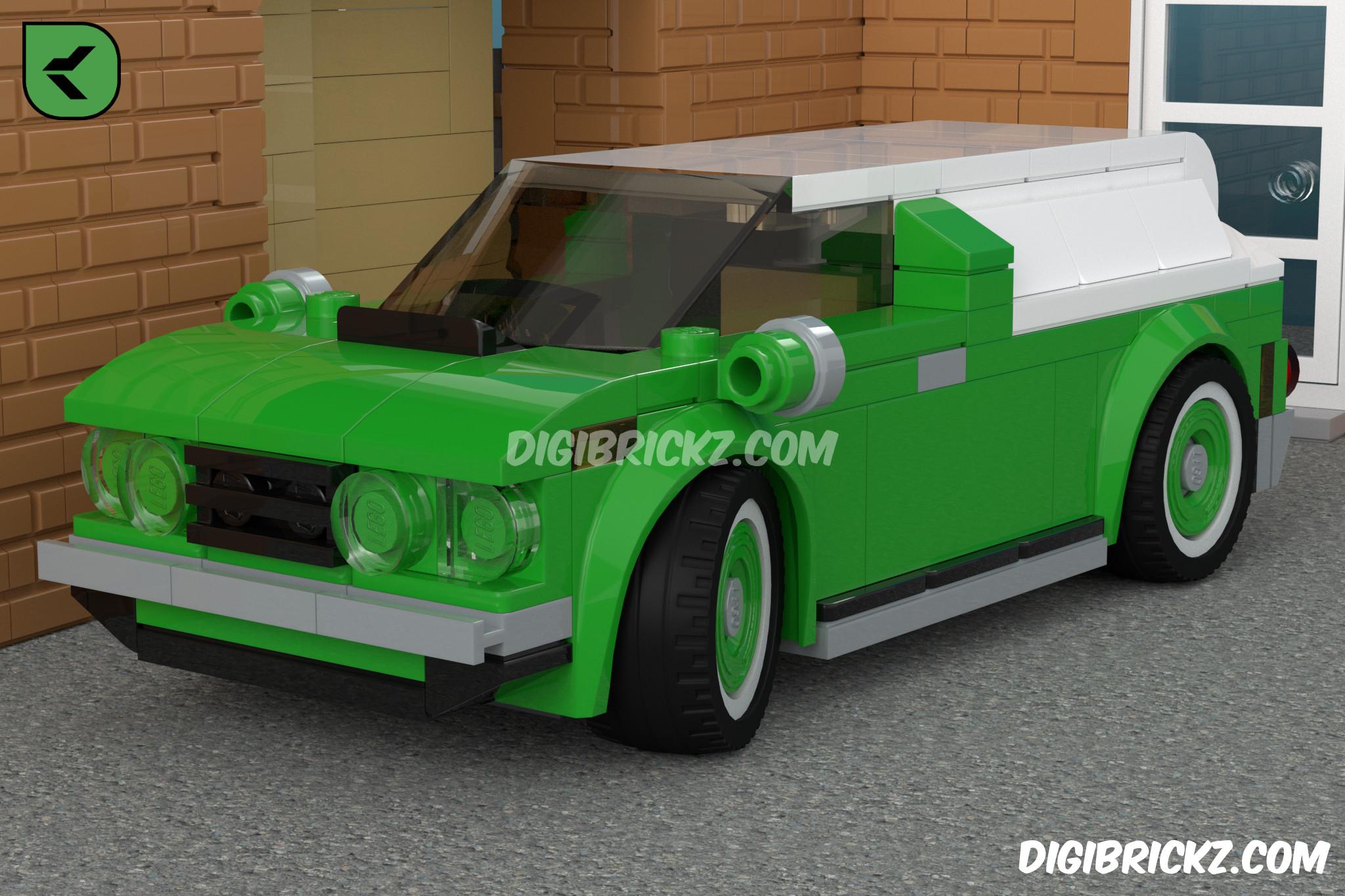 LEGO Delivery Van by Kamal Muftie Yafi (KamalMYafi/Kamteey) | DigiBrickz.com
