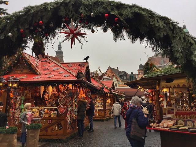 Mercadillo navideño de Coburg (Norte de Baviera, Alemania)