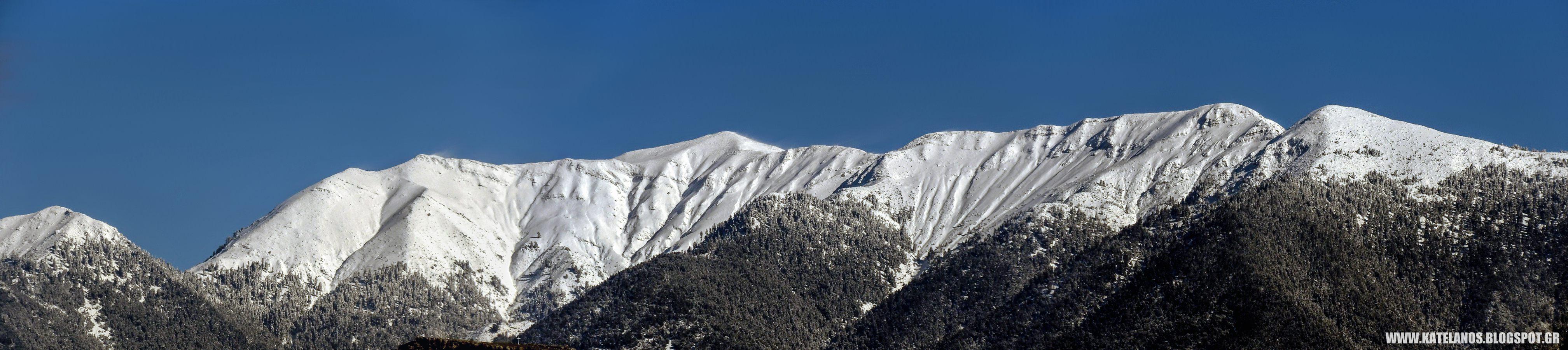 παναιτωλικο ορος χιονια αγρινιο βουνα αιτωλοακαρνανιας