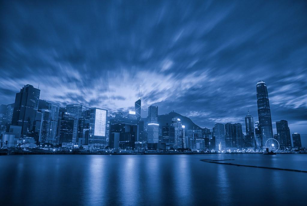 hong kong bw blue tone facebook www facebook com yilan flickr