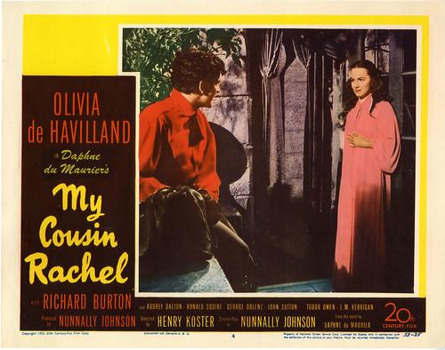My Cousin Rachel - 1952 - lobbycard 1