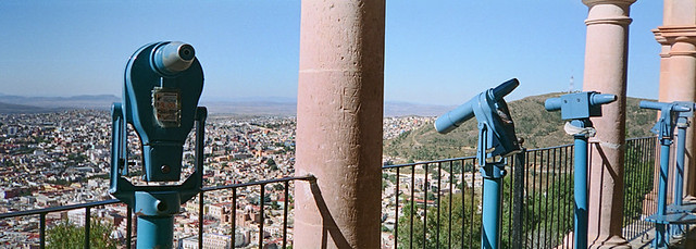 View from the Bufa in Zacatecas, Mexico