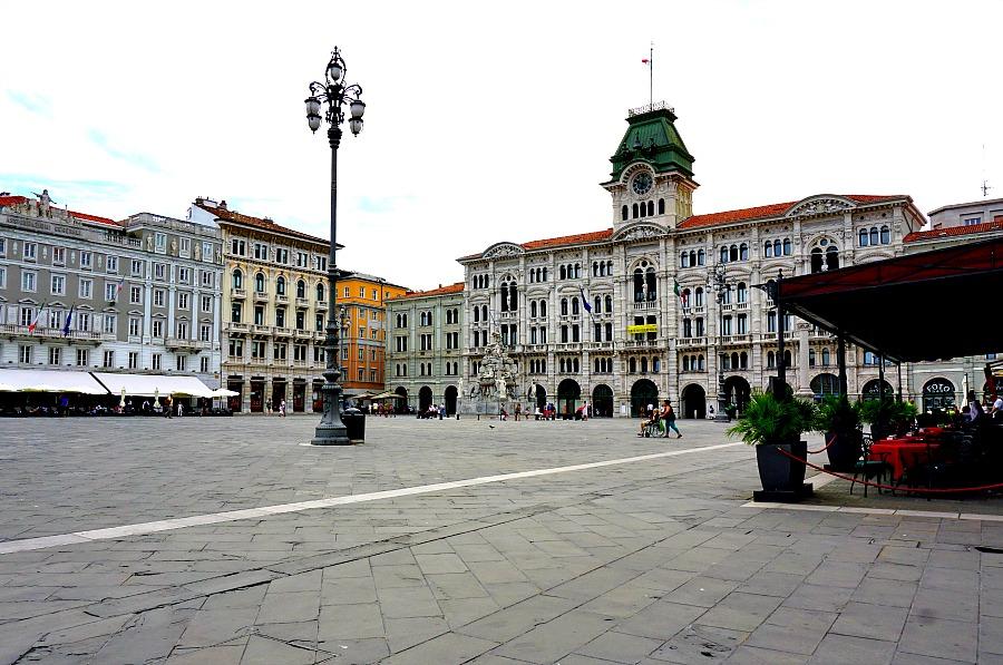 Trieste Italy Plaza Unica