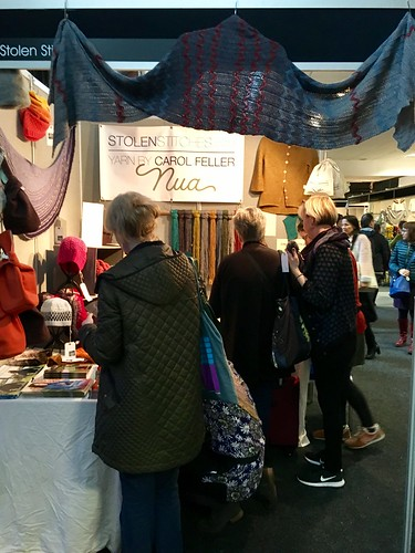 Edinburgh Yarn Festival 2017. Read my post-fest wrapup blog post at evinok.com