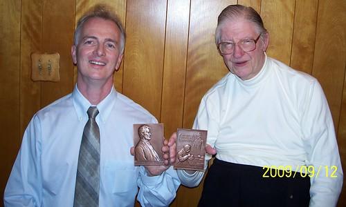 Mark Schlepphorst and Dick Johnson