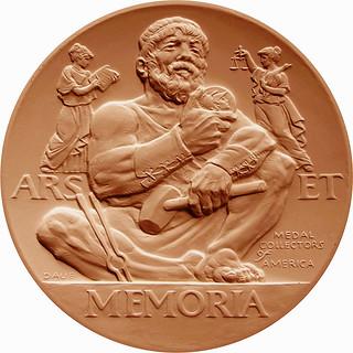 MCA award medal