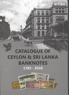Catalogue of Ceylon and Sri Lanka Banknotes book cover