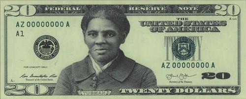 Harriet Tubman Facsimile Design