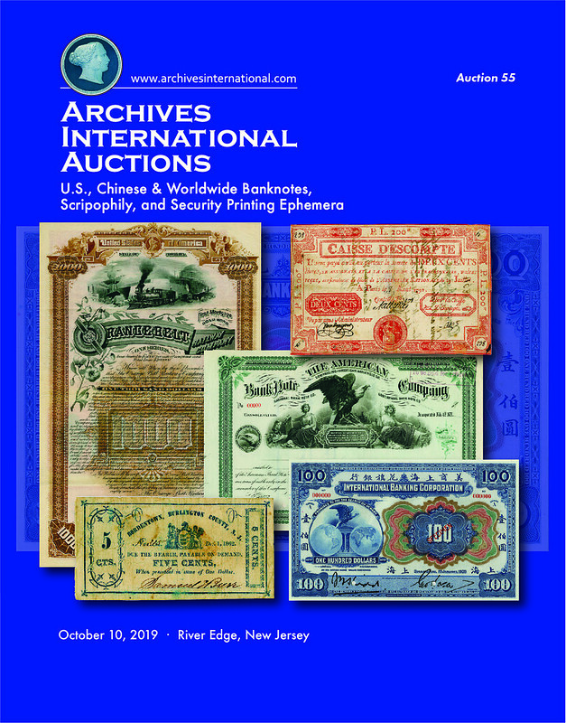 Archives International Sale 55 cover front