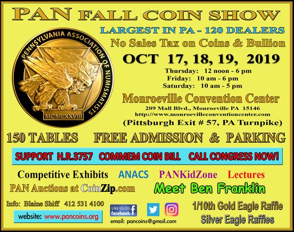 E-Sylum ad PAN 2019-09-22 Fall show