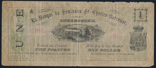 La Banque du Seminaire One Dollar