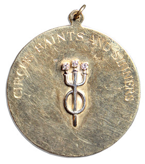 Helen Hayes' Circus Saints and Sinners Medal obverse