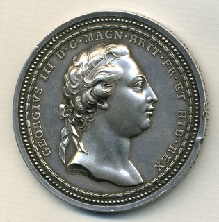 1770 Royal Academy Prize Medal obverse