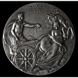 1901 Yale Bicentennial Medal obverse