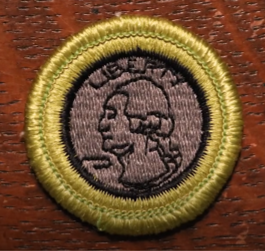 Boy Scouts Coin Collecting Merit Badge