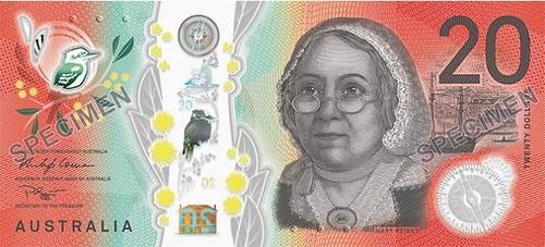 Australia $20 Note face