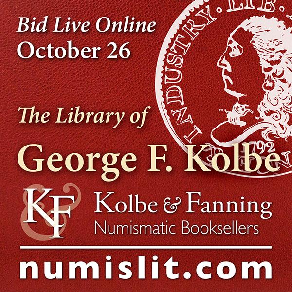 Kolbe-Fanning E-Sylum ad 2019-10-06 Kolbe Library