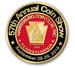 Harrisburg Coin Show logo