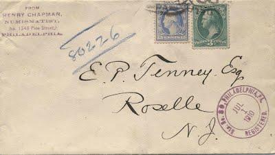 7_1_1910 E. P. Tenney lrtter from Chapmans